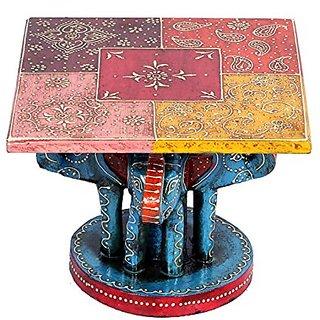 Elephant Decorative Corner Table Handicrafts