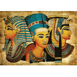 Ancient Egypt Art Poster ( 12 inches x 18 inches )