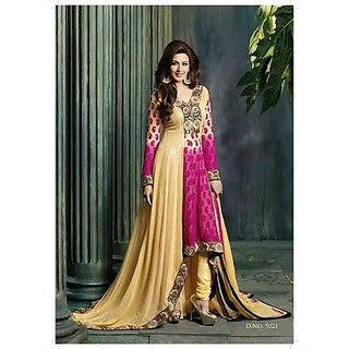 37b74d1506c2 Georgette Bridal Designer Party Wear Anarkali Suits at Best Prices -  Shopclues Online Shopping Store
