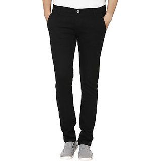 Club Vintage Slim Fit Mens Black Jeans
