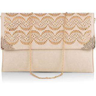 Stoln Wome White Clutch Bag-8662White