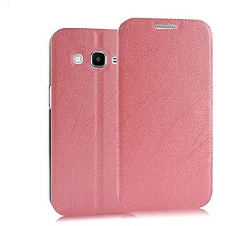 Heartly Premium Luxury PU Leather Flip Stand Back Case Cover For Samsung Galaxy Core Prime SM