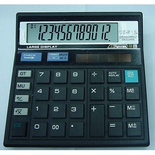buy githzen basic 12 digit check and correct calculator ct 512