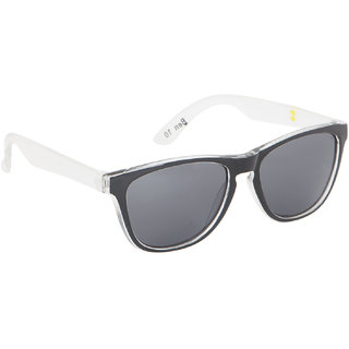 Stoln Ben 10-Kids White  Black Wayfarer Design Sunglass-121-122-3-2