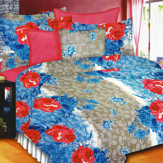 Looms of India florals  Bed Sheet Set (BC-11380)