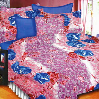 Looms of India florals  Bed Sheet Set (BC-11383)