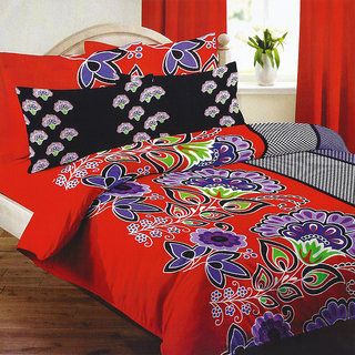 Looms of India florals  Bed Sheet Set (BC-11389)