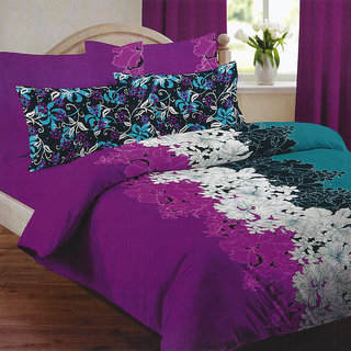 Looms of India flower print  Bed Sheet Set (BC-11395)