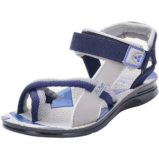 Chevit MenS Blue Casual Velcro Floater (1152-BL-CVT)