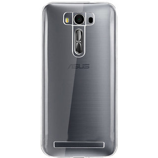 Evoque Transparent Back Cover For Zenfone 2 Laser ZE550KL (5.5 inch)