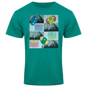Green Colour T-Shirt For Men
