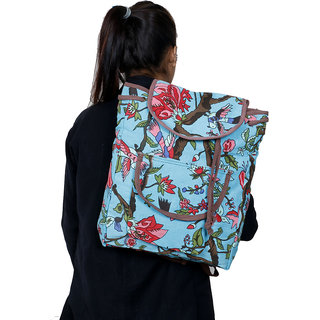IndiWeaves Multicolor Cotton Backpack 82055-IW