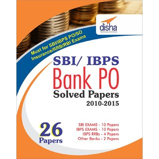 Sbi  Ibps Bank Po Solved Papers - 26 Papers