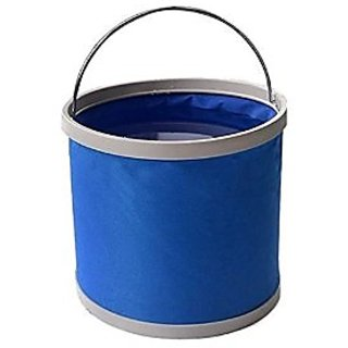 Waterproof Collapsible 11 Liters Folding Foldaway Collapsible Bucket