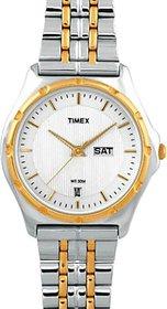 Timex Analog White Round Watch -BW04