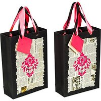 Handmaze Printed Party Bag(Multicolor, Pack Of 2)