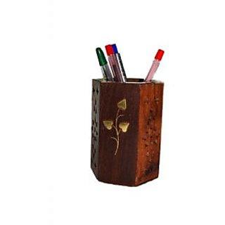 Sovam International Pen Stand Jar Penjar Desk Table office Stationery Gift item