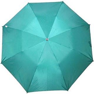 Fendo Plain Light Green 2-Fold Umbrella
