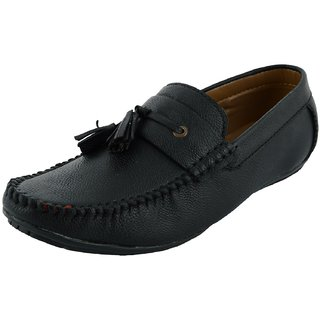 OKAYY black lace repit loafer for men