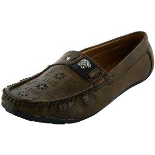 OKAYY beige laser loafer for men