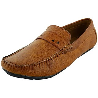 OKAYY tan simply cool loafer for men