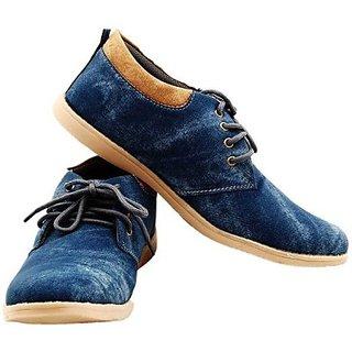 Sats Sabtle Blue Casual Shoes