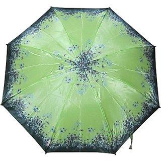 Fendo Floral GreenBlack 2-Fold Umbrella