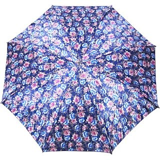 Fendo Floral BluePink 2-Fold Umbrella