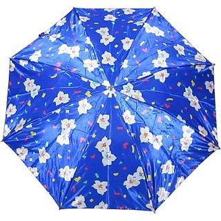 Fendo Floral BlueWhite 2-Fold Umbrella