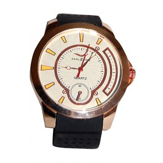 Annyy  Stylish  Watch  With  Rubber  Strap