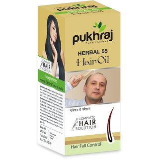 Pukhraj Hair Fall Control and Anti-Lices Hair Oil