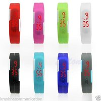 Stylish Led Digital Fashion Ultra Thin Designer Sports Watch For Kids