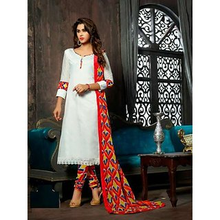 Chanderi cotton Salwar Material At Low Price