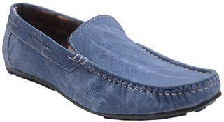 Messi Blue Loafers