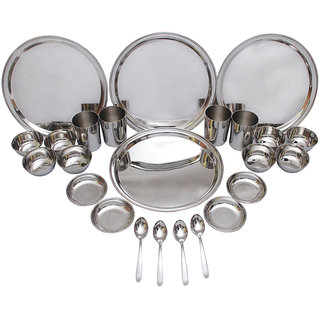 Czar 24 Pcs Stainless Steel Dinner Set