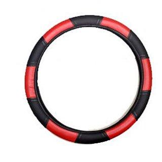 SREEKAMAKSHIAUTOMOBILE. Red And Black Car Steering Cover For Honda CR-V