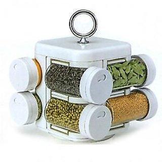 JVS brand 8 Jar Revolving Spice Rack