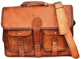 Leather Brown Office bag