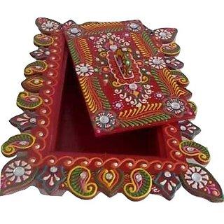 Handicrafts Wooden Box