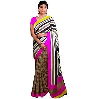 Sareemall Printed Designer Art Silk Saree 100-8017B