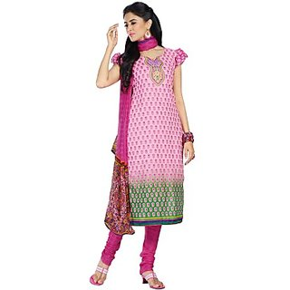 Porwal Bros Cotton Printed Salwar Suit Dupatta Material  FABECPZBHCSCE28Y