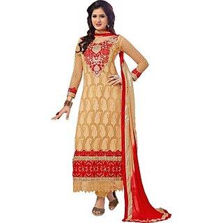 Porwal Bros Georgette Embroidered Salwar Suit Dupatta Material  FABE44NYQBJDYTHW