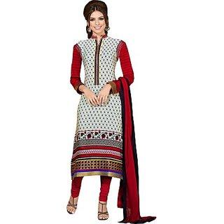 Porwal Bros Crepe Printed Salwar Suit Dupatta Material  FABE44NYN7THEEXD