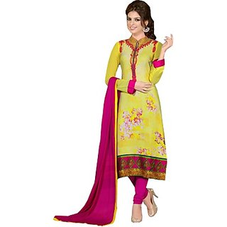 Porwal Bros Crepe Printed Salwar Suit Dupatta Material  FABE44NY8HFCWFCH