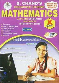 CLASS 10 - S CHAND  MATHEMATICS (3 CDs)