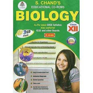 CLASS 12 - S CHAND  BIOLOGY (3 CDs)