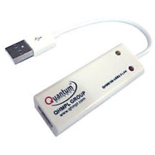 Quantum USB 2.0 LAN card adapter QHM 8106