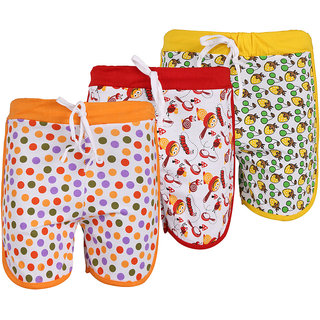WEECARE PRINTED HOT PANT (PACK OF 3)