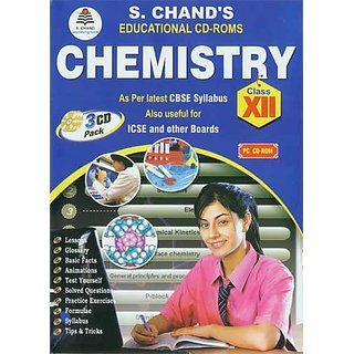 CLASS 12 - S CHAND  CHEMISTRY (3 CDs)