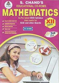 CLASS 12 - S CHAND  MATHEMATICS (3 CDs)